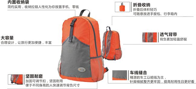 600d/pu 【背包尺寸